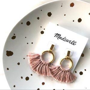 NWT Madewell | Tassel Hoop Earrings